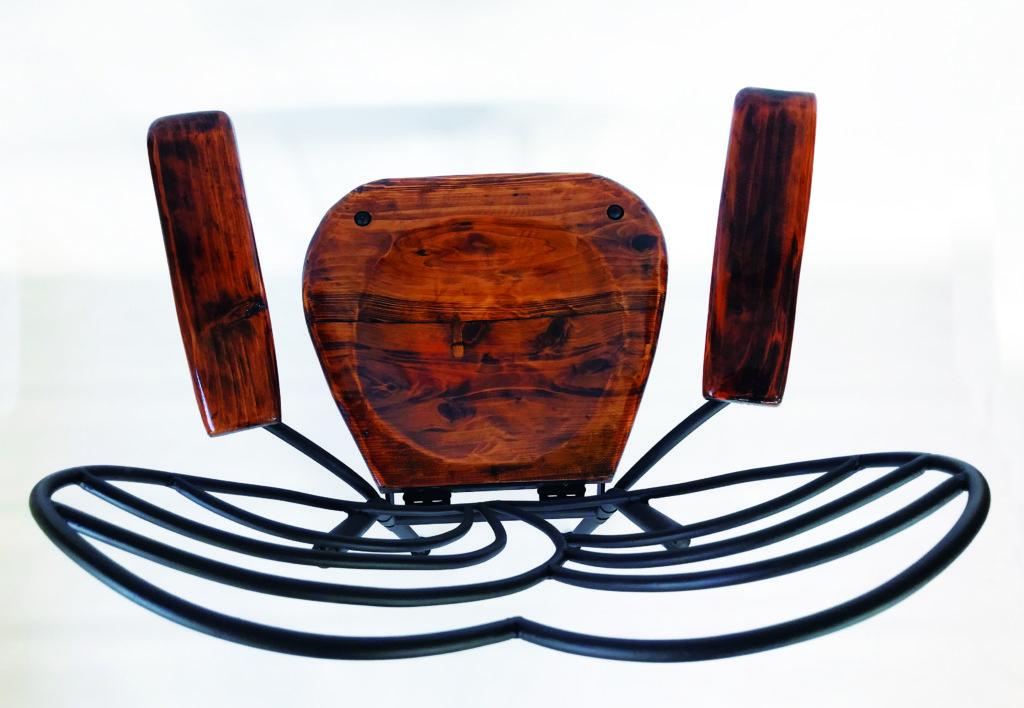 アイアン家具 椅子 Heartの曲線