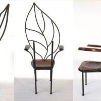 Iron Chair Leaf