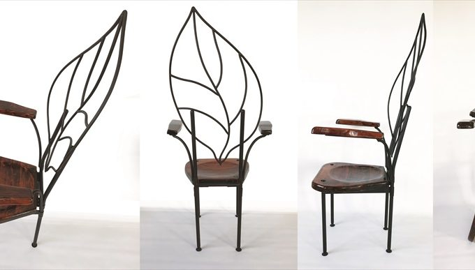 Iron Chair Leaf