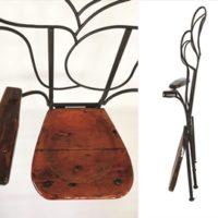 Iron Chair Rose