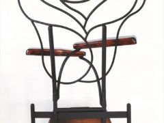 Iron Chair Rose