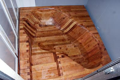 リヒトワークス木製バスタブ